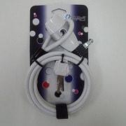 CP-LK187 ダブル ループロック WH 8-1800mm