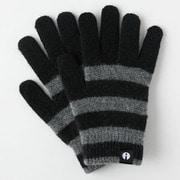 iTG005-BKxGY/S [iTouch Gloves ストライプ BKxGY S]
