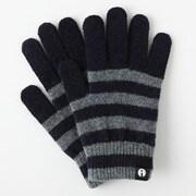 iTG005-NVxGY/L [iTouch Gloves ストライプ NVxGY L]