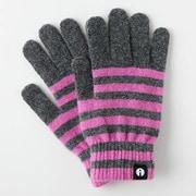 iTG005-GYxPK [iTouch Gloves ストライプ GYxPK S]