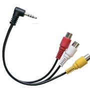 NW085AVX [3.5φミニピン-RCA(赤/白/黄)ケーブル CL85HO用]