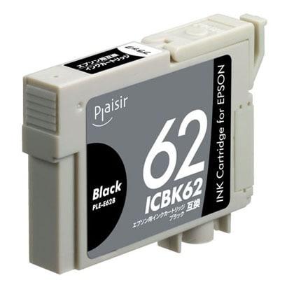 PLE-E62B [ICBK62互換インクカートリッジ ブラック]