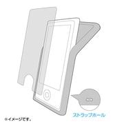 PDA-IPOD71BK [シリコンケース(iPod nano 第7世代用) ブラック]