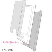 PDA-IPOD72P [クリアハードケース(iPod nano 第7世代用) ピンク]