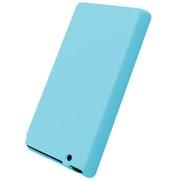 BSWF12CSLBL [ウォークマン Fシリーズ(2012年発表モデル)専用 光るシリコンケース 液晶保護フィルム付 ブルー]