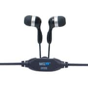 インナータイプイヤホン for Wii U GamePad ブラック [Wii U用]