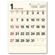 8166 [クリームメモ月表 カレンダー 2013年版]