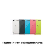 TR-CCTC12-CL [第5世代 iPod touch用 抗菌クリスタルカバーセット クリア]
