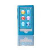 TR-SCNN12-BL [第7世代 iPod nano用 抗菌シリコンケースセット ブルー]