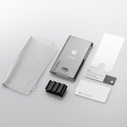 TR-CCNN12-SB [第7世代 iPod nano用 抗菌クリスタルカバーセット スモーキーブラック]