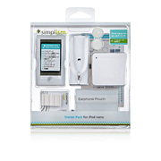 TR-SPNN12-CL [第7世代 iPod nano用 抗菌スターターパック クリア]