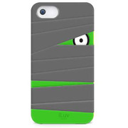 ICA7T327GRYJP [Mummy & Ninja Silicone character case for iPhone 5]