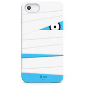 ICA7T327WHTJP [Mummy & Ninja Silicone character case for iPhone 5]