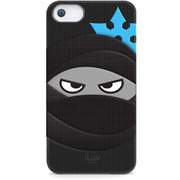 ICA7T326BLKJP [Mummy & Ninja Silicone character case for iPhone 5]