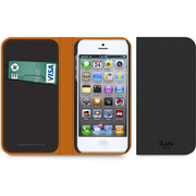 ICA7J343BLKJP [Diary I Premium leather book case for iPhone 5]
