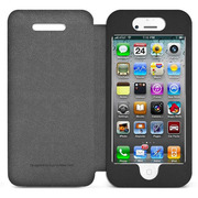 ICA7J346BLKJP [Pocket Agent Premium Appointed Leather for iPhone 5]