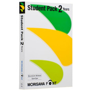 MORISAWA Font Student Pack 2 Years [Windows/Mac]