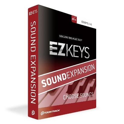 EZ KEYS SOUND EXPANSION(イージー・キー/サウンド エクスパンション) [ソフト音源]