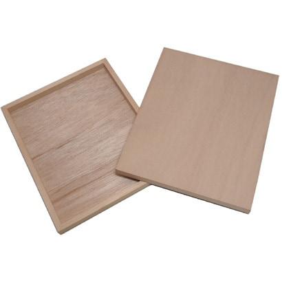 木製パネル A4定型 [210×297×約20ミリ]