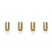 94801 [ミニ四駆AOパーツ AO-1023 2段アルミローラー用5mmパイプ(4本)]