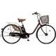 BE-END635T2 [電動アシスト自転車(26型) チョコブラウン ビビ・DX ECONAVI(エコナビ)搭載]