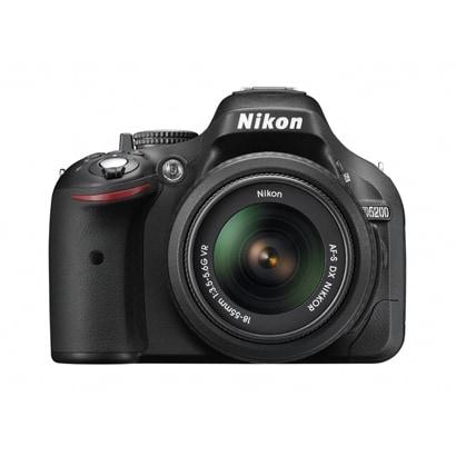 D5200 18-55VR レンズキット ブラック [ボディ+交換レンズ「AF-S DX NIKKOR 18-55mm f/3.5-5.6G VR」]