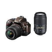 D5200 ダブルズームキット ブロンズ [ボディ+交換レンズ「AF-S DX NIKKOR 18-55mm f/3.5-5.6G VR」「AF-S DX NIKKOR 55-300mm f/4.5-5.6G ED VR」]