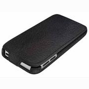 BSIP12TCL2BK [iPod touch 第5世代専用 レザーケース ICカード対応モデル 液晶保護フィルム付 ブラック]