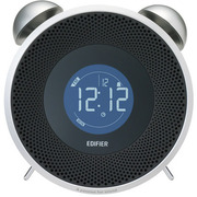 MF240BT-WH [FMラジオ搭載 目覚まし機能付 Bluetooth対応スピーカー TickTock Bluetooth ホワイト]