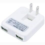 USBAC2PWH [USB-ACチャージャー 2ポート ホワイト]