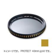 HG-AR MC PROTECT 49mm gold プラネットU [レンズフィルター]