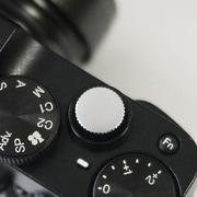 レリーズボタン 10mm シルバー