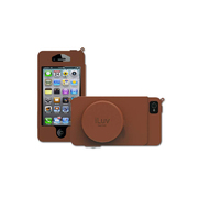 ICA7J344TANJP [Camera case  Premium leather case with cord management pocket for iPhone 5]