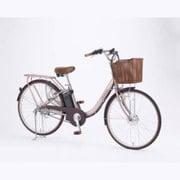TASKAL-M-BE [電動アシスト自転車 タスカルレディ 26型 内装3段変速 シャンパンピンク×ブラウン]