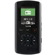 M33B8 [AM/FM搭載ダイレクト録音対応プレーヤー Lyumo M33 8GB クリスタルブラック]