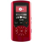 M33R8 [AM/FM搭載ダイレクト録音対応プレーヤー Lyumo M33 8GB メタリックレッド]