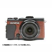 オリンパスSTYLUS XZ-2用 張革キット#8030 クロコブラウン