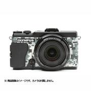 オリンパスSTYLUS XZ-2用 張革キット#8500 デジタル迷彩