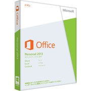 Office Personal 2013 [PC2台/1ライセンス Windows]