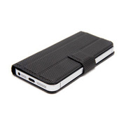 SY-007B-BK [iPhone5用電磁波吸収ケース(ブックカバータイプ) BLACK]