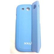 SY-008-BL [GALAXY S3用電磁波吸収ケースマグネット付き セパレートカバー BLUE]
