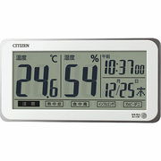 8RD206-A03 [ライフナビ D206A 白 デジタル温・湿度計]