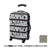 H0010T-50 121 [スーツケース 旅行日数目安:2~3泊 39L/47L(拡張時) TSAロック搭載 カフェリボンミント]