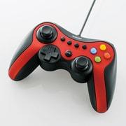 JC-U3613MRD [12ボタンUSBゲームパッド Xinput対応 レッド]