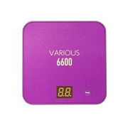 PVB-6600PL [スマホ&iPhone&各種対応大容量マルチバッテリー パープル]