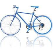 R+708 [クロスバイク HybridStyle(ハイブリッドスタイル) 700×23C 外装7段変速 ホワイト/ブルー]
