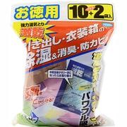 引き出し・衣装箱用 徳用12袋入 [除湿剤]