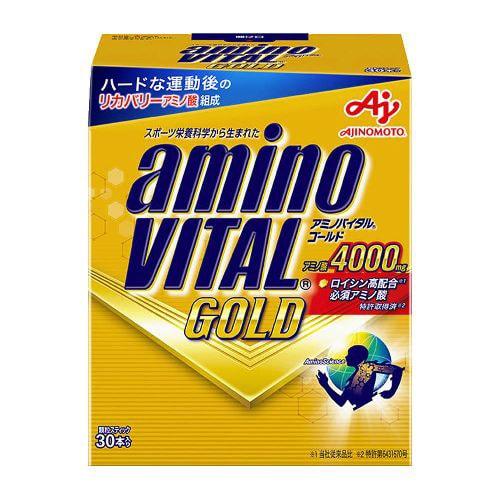 アミノバイタルGOLD 16AM-4110 4000mg 30本入箱 [スポーツ・ビタミン粉末飲料]