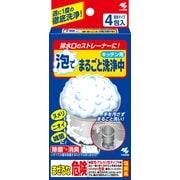 排水口泡でまるごと洗浄中4包 [排水溝洗浄剤]
