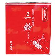 三鈴香(太巻)10束入 [お墓参り用線香]